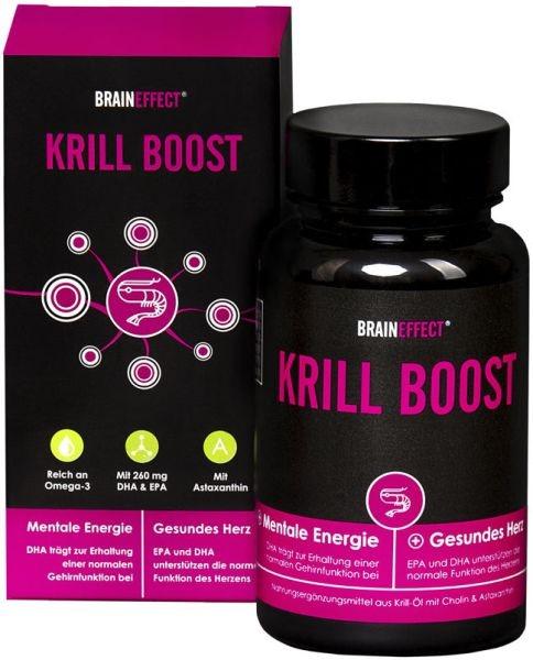 Braineffect Krill Boost - 60 Kapseln