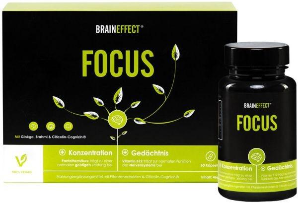 Braineffect Focus - 60 Kapseln