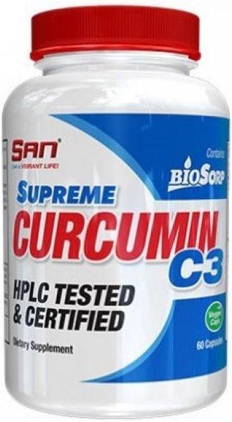 SAN Supreme Curcurmin C3 - 60 Kapseln - MHD WARE 02/2019