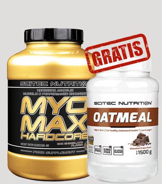 Scitec Nutrition MyoMax Hardcore - 3080 g + Oatmeal GRATIS