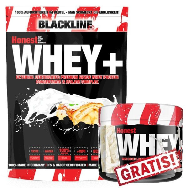 Blackline 2.0 Honest Whey+ 1000g + Mini Whey GRATIS!
