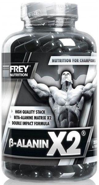Frey Nutrition Beta-Alanin X2 - 250 Kapseln - MHD WARE 05/2019