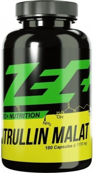 ZEC+ Citrullin Malat  - 180 Kapseln - MHD WARE 12.06.2019