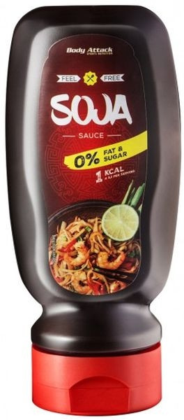 Body Attack Soja Sauce - 320ml
