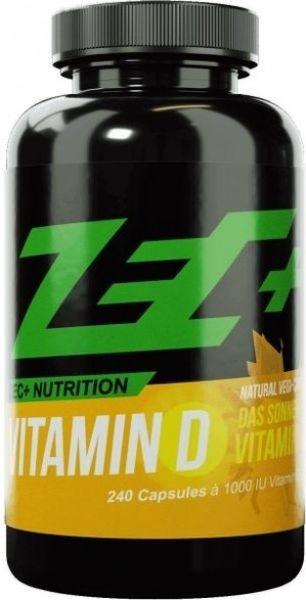 ZEC+ Vitamin D - 240 Kapseln - MHD WARE 22.06.2019
