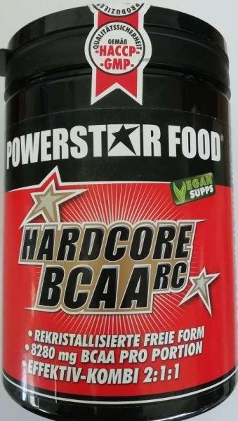 Powerstar Hardcore BCAA RC - 500g - MHD WARE 06/2019