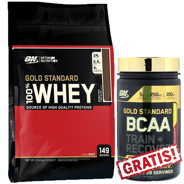 Optimum Nutrition 100% Whey Protein - 4