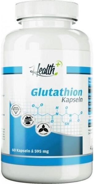 Health+ Glutathion - 60 Kapseln - MHD WARE 12.07.2019
