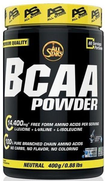 All Stars BCAA Powder - 400 g Neutral - MHD WARE 31.07.2019