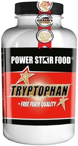 Powerstar L-Tryptophan - 100 Kapseln - MHD WARE 08/2019