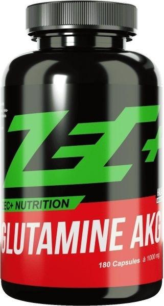 ZEC+ Glutamine AKG - 180 Kapseln - MHD WARE 27.09.2019