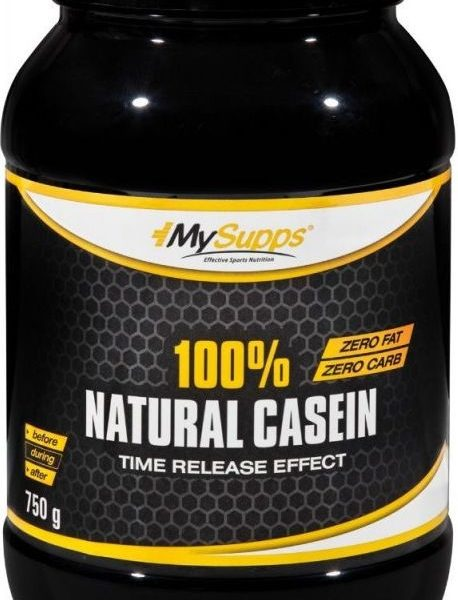My Supps 100% Casein - 750g - MHD WARE 10/2019
