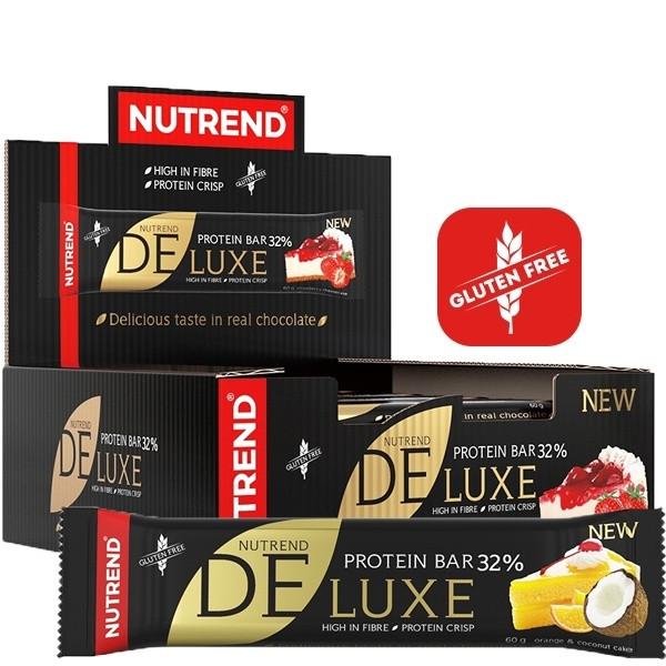 Nutrend 32% Protein Deluxe Riegel - Einzeln & 12er Box