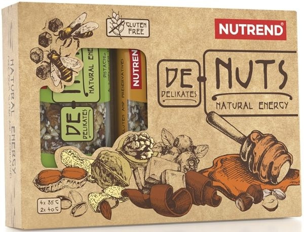Nutrend DeNuts Mixbox - 6 Riegel