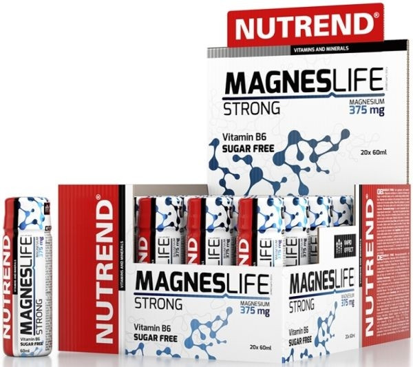 Nutrend Magneslife Strong - 20x 60ml Shots
