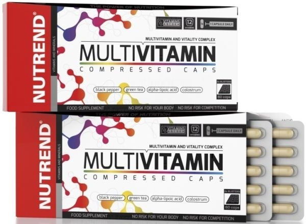 Nutrend Multivitamin Compressed Caps - 60 Kapseln
