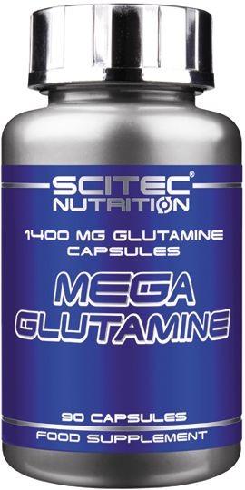 Scitec Mega Glutamin Caps - 90 Kapseln MHD WARE 11/2019