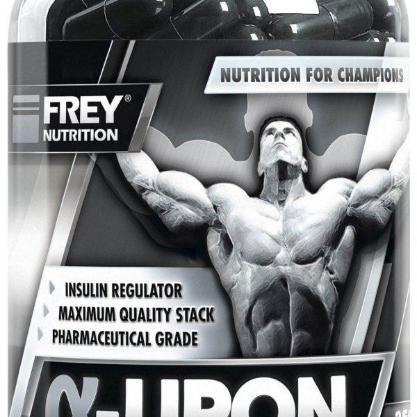 FREY NUTRITION Alpha-Liponsäure - 250 Kapseln - MHD WARE 11/2019