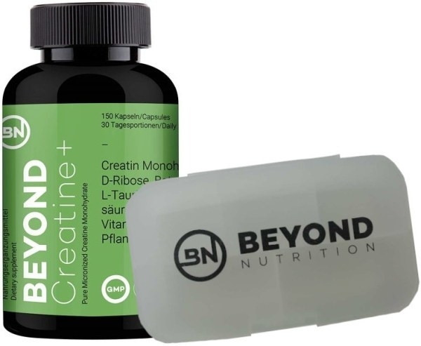 Beyond Creatine Plus - 150 Kapseln + Pillenbox gratis!