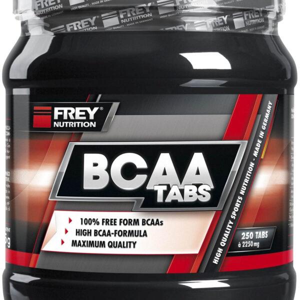 Frey Nutrition BCAA Tabs - 250 Tabletten - MHD WARE 01/2020