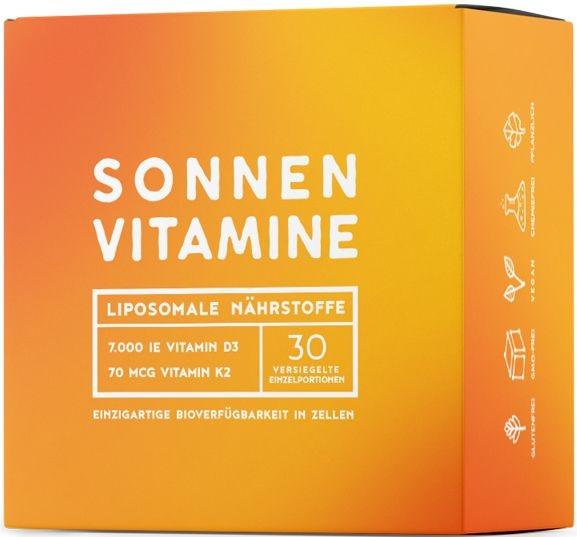 Alpha Foods Liposomale Sonnenvitamine - 30 Portionsbeutel
