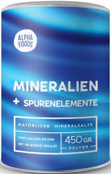 Alpha Foods Mineralstoffe - 450 g
