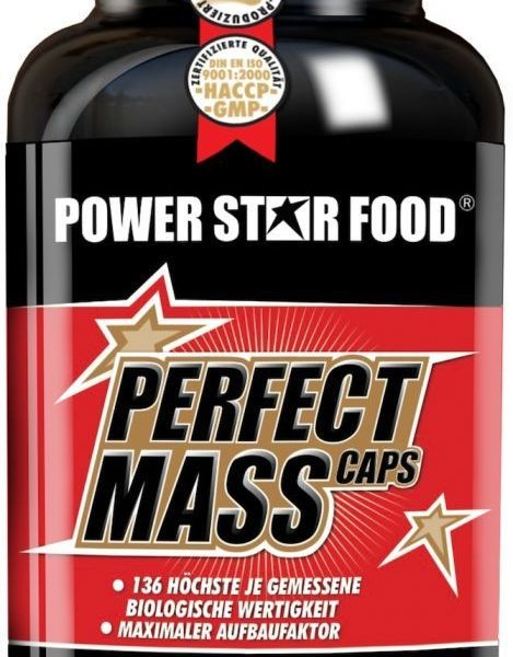 Powerstar Perfect Mass Caps - 500 Kapseln - MHD WARE 11/2019