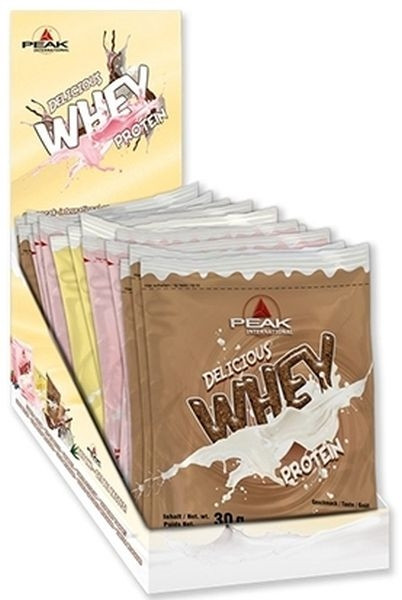 Peak Delicious Whey Protein - 30er Sample Pack
