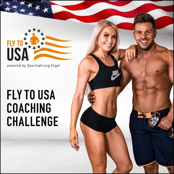 FLY TO USA - 4 Monate Online Coaching Challenge