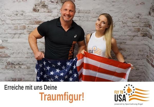 FLY TO USA Gutschein zum Ausdrucken