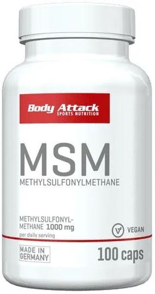 Body Attack MSM - 100 Kapseln