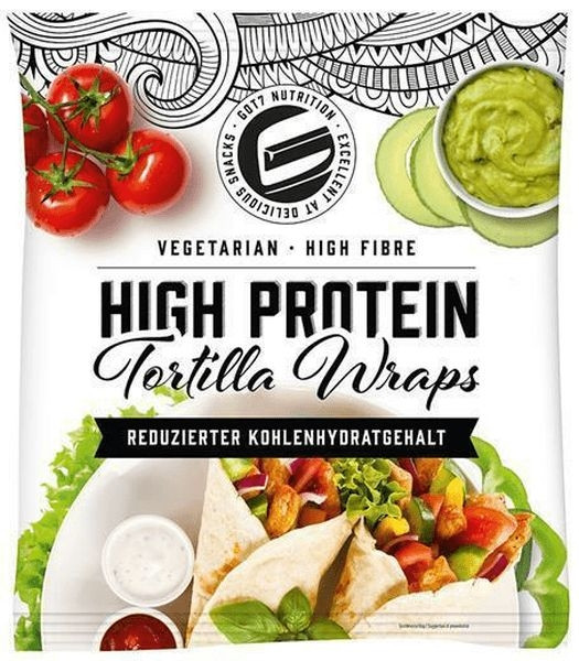 GOT7 Protein Tortilla Wraps - 280g