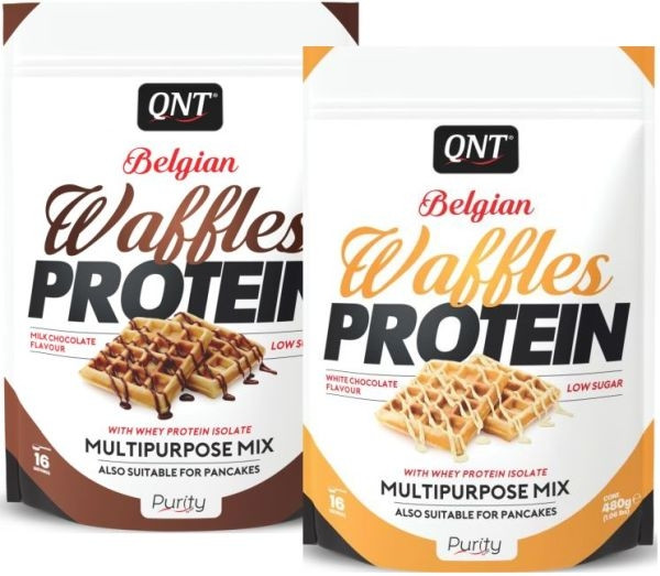 QNT Belgian Protein Waffles - 480g