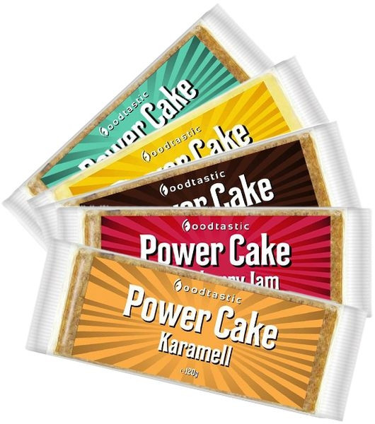Foodtastic Power Cake - 120g Riegel - MHD WARE 12/2020