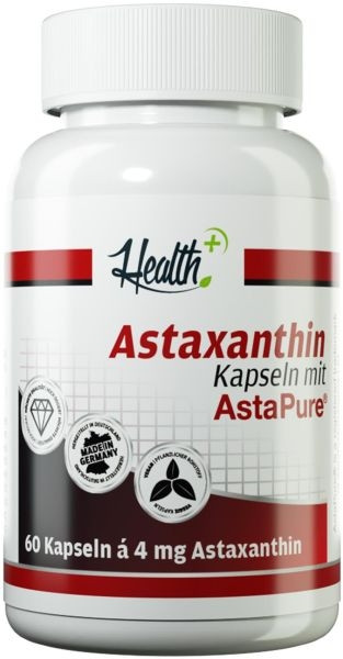 Health+ Astaxanthin - 60 Kapseln