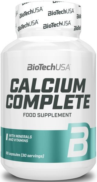 BioTechUSA Calcium Complete - 90 Kapseln