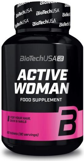 BiotechUSA Active Woman - 60 Tabletten