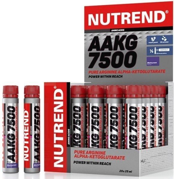 Nutrend AAKG 7500 - 20 Ampullen - MHD WARE 09.08.2020