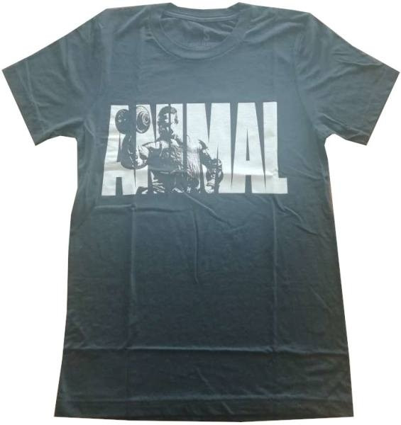 Universal Nutrition ANIMAL Pump Iconic Tee - Charcoal