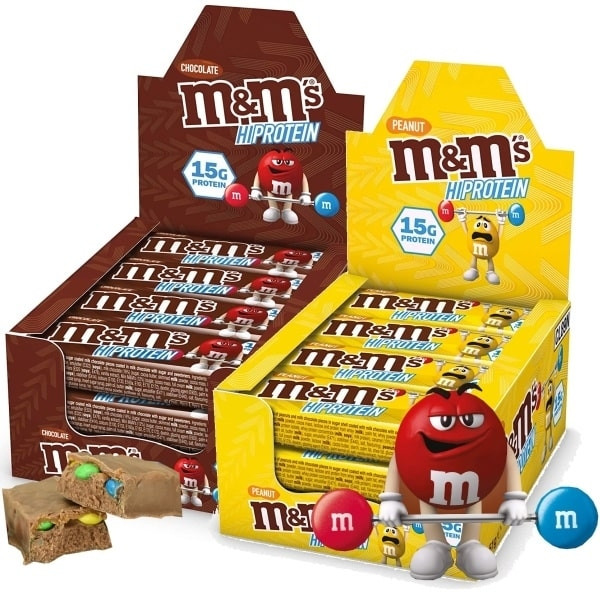 M&M's Hi Protein Bar - 12x 51g