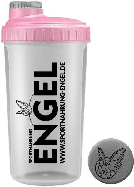 Rosa/Grau - Sportnahrung-Engel Shaker 2.0