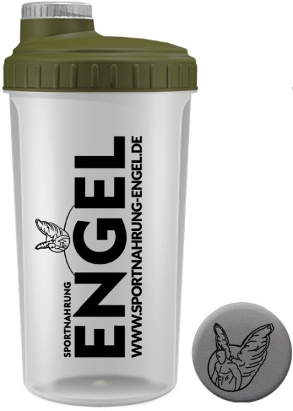 Khaki/Grau - Sportnahrung-Engel Shaker 2.0