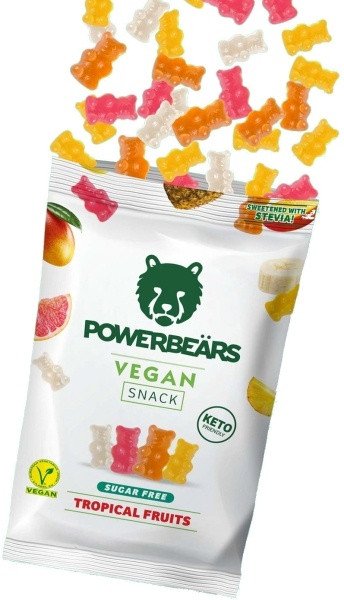 Powerbeärs Vegan Snack - 16x 50 g