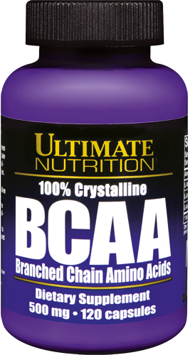 Ultimate Nutrition BCAA - 120 Kapseln á 500mg