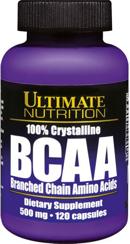 Ultimate Nutrition BCAA - 120 Kapseln á 500mg