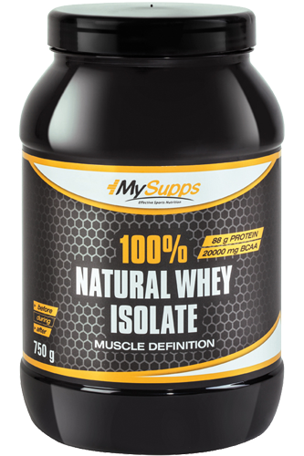 My Supps 100% Whey Isolat - 750g