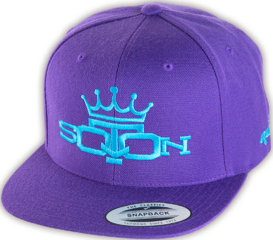 Squat Queen Cap - Purple