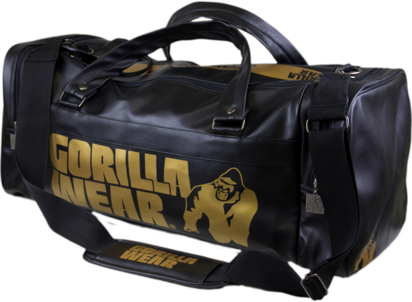 Gorilla Wear Gym Bag - Gold Edition