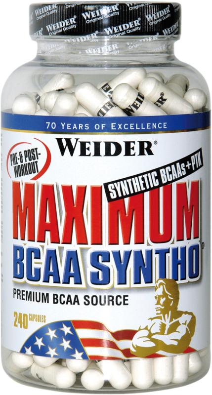 Weider Maximum BCAA Syntho+PTK - 240 Kapseln