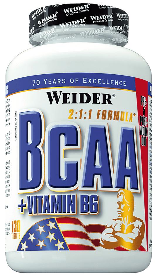 Weider BCAA + Vitamin B6 - 130 Tabletten